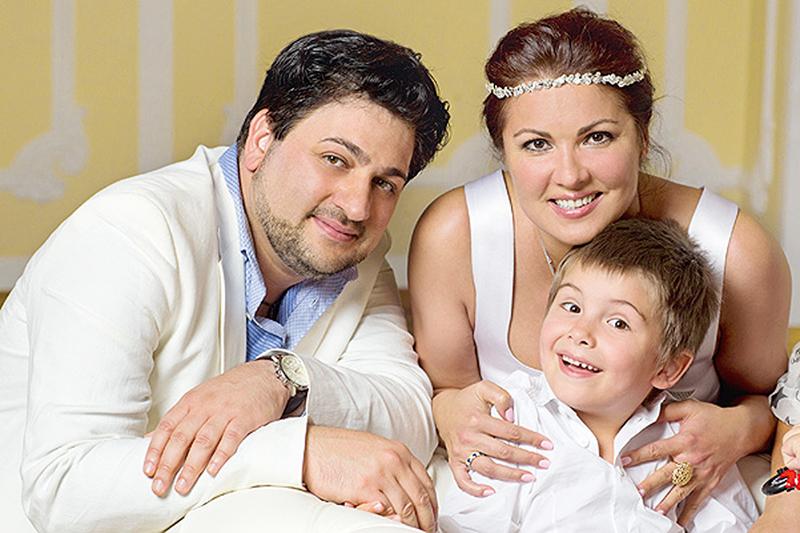 Анна Юрьевна Нетребко и ее муж на фото Юсиф Эйвазов