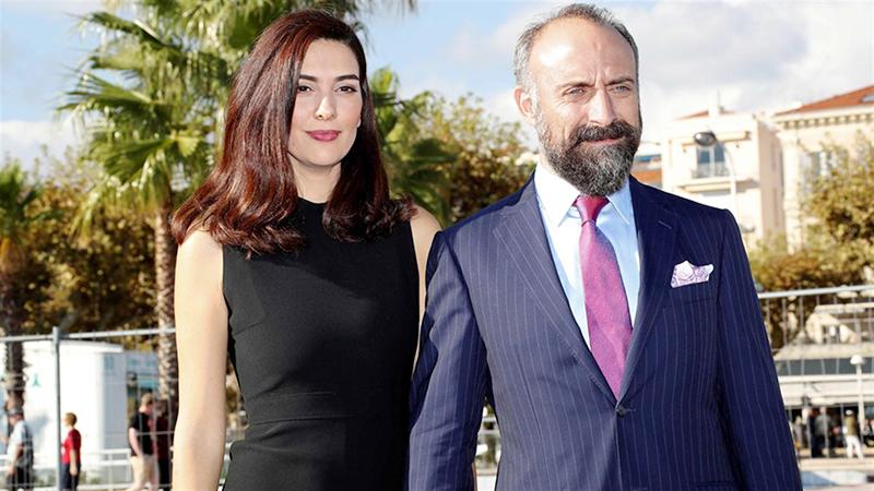 Бергюзар Корель Эргенч и ее муж Халит Эргенч фото