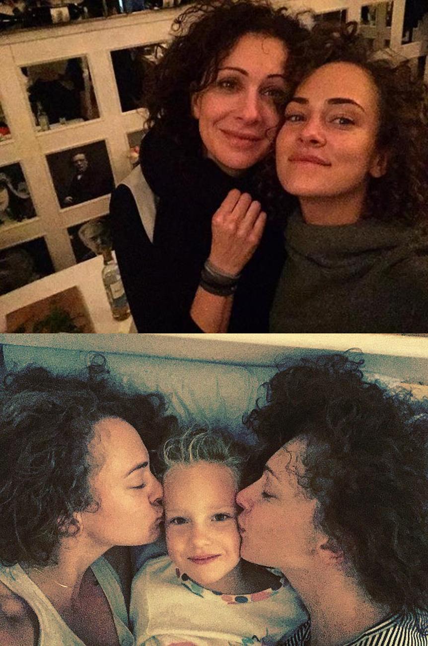 Ксения Раппопорт и ее дети фото