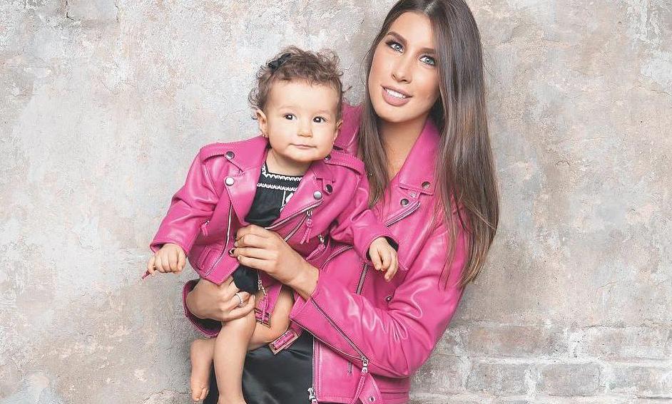 фото Кети Топурия и ее дочь вместе