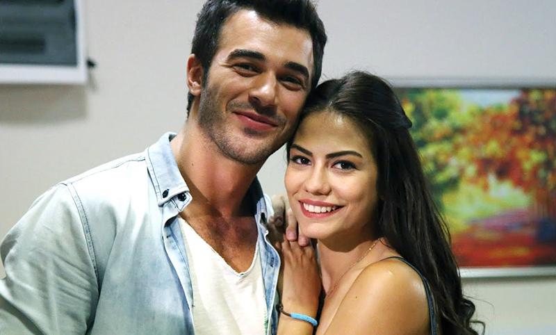 Фотография Демет Оздемир и мужа Юсуф Чим