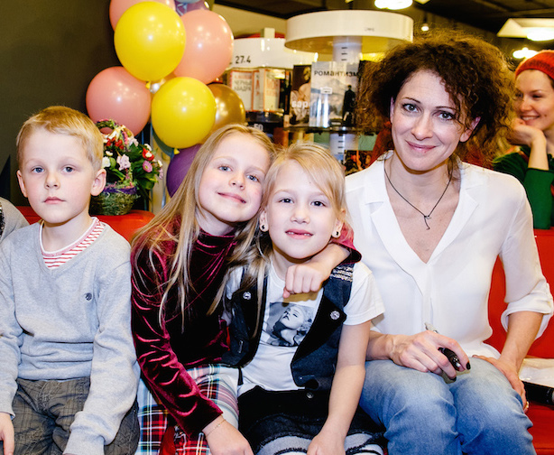 Фотография Ксения Раппопорт и дети