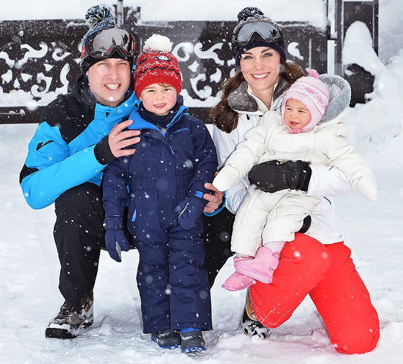 Фотография с отдыха Кейт Миддлтон с семьей