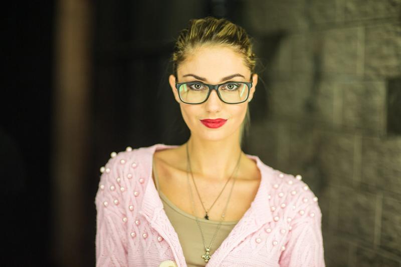 Фото модели Агата Муцениеце из жизни