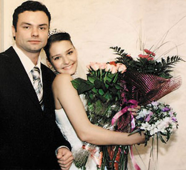 Глафира Тарханова и ее муж Алексей Фаддеев на фото
