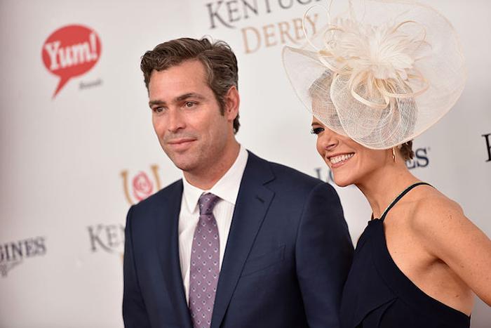 Мегин Келли и ее муж Дуглас Брант на фото