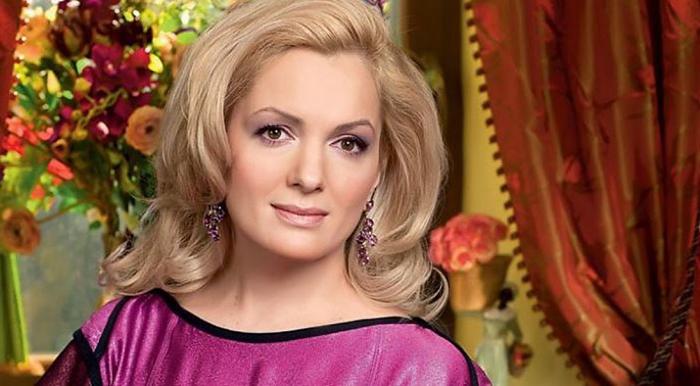 На фото Мария Михайловна Порошина актриса