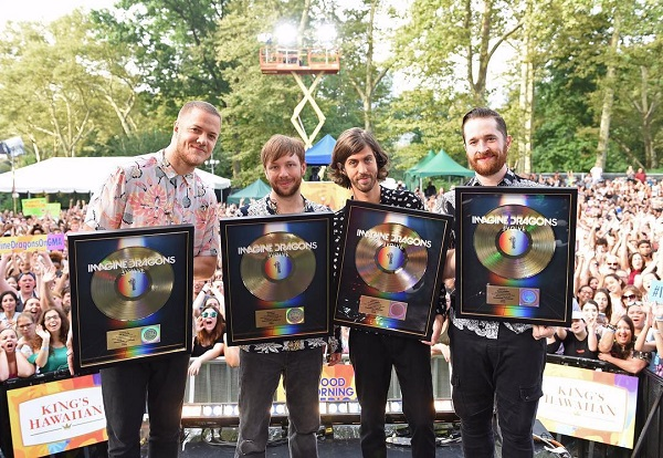 Imagine Dragons на фото