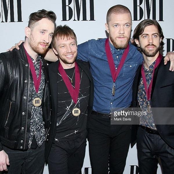 Imagine Dragons музыкальная рок-группа в фото