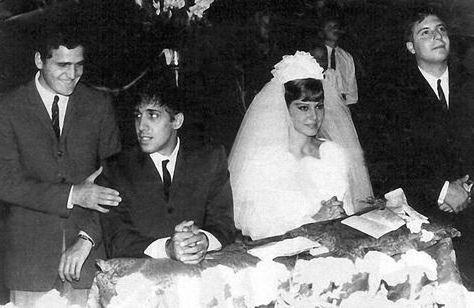 Клаудия Мори и Адриано Челентано в фото