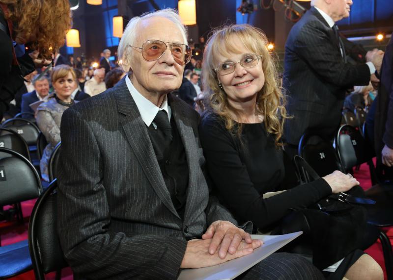 Наталия Николаевна Белохвостикова и Владимир Наумов на фото