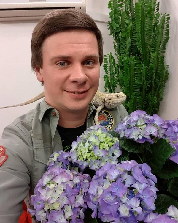 Фото журналиста Дмитрия Константиновича Комарова