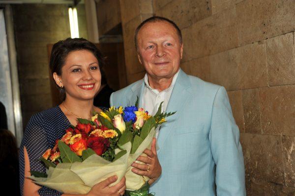 Инна Разумихина и Борис Галкин на фото