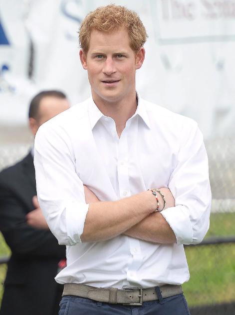 Принц Гарри Уэльский на фото