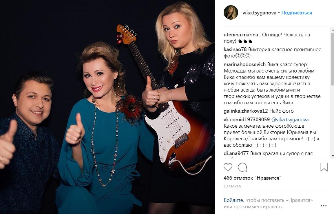 Виктория Цыганова и ее карьера на фото